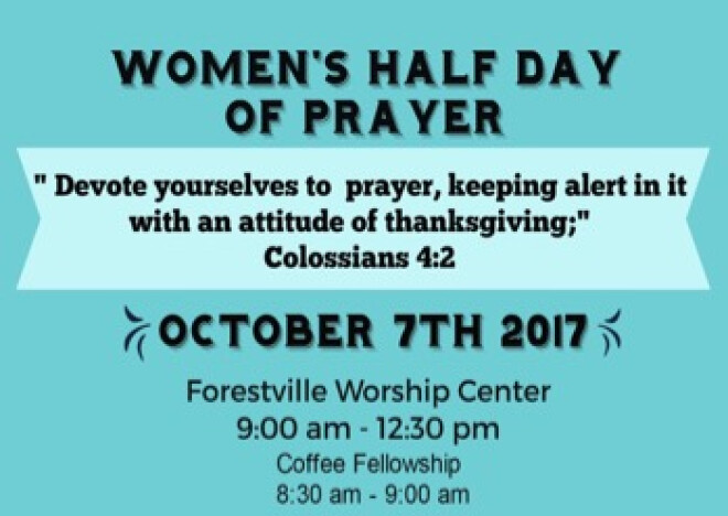 Women's Half Day Of Prayer