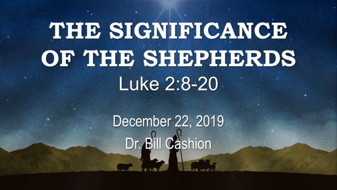 The Significance of the Shepherds