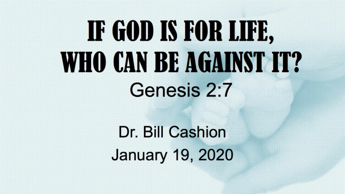 If God is for Life, Who Can be Against It?